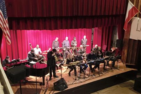 Big Band at the Chopin Ballroom